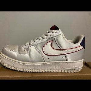 White/ Silver Women's Air Force One
